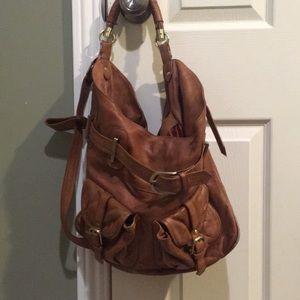 Sabina New York Leather Satchel